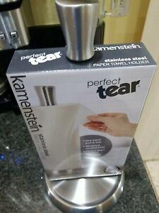 Kamenstein Perfect Tear Paper Towel Holder Stainless Steel