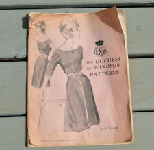 VINTAGE SPADEA FASHIONS THE DUCHESS OF WINDSOR PATTERNS CATALOG 1965 CLOTHING