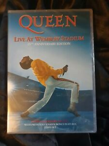 Queen: Live at Wembley Stadium -25th Anniversary Edition New & sealed 2 Disc DVD