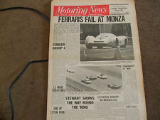 Motoring News 1 May 1969 Viva GT Monza 1000kms Nurburgring F2 Spitfire Test