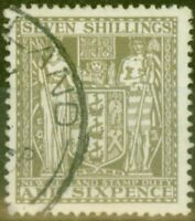 New Zealand 1931 7s6d Olive-Grey SGF152 Fine Used