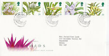 GB 1993 Orchids FDC Glasgow CDS with enclosure VGC