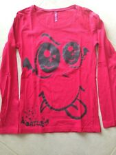 tee shirt ML rouge. Taille 12 ans