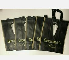 New listing Groomsmen'S Club ~ Tote Bags Gift Bags Non-Woven (5 pack) Wedding Party New