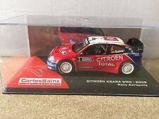 "DIE CAST "" CITROEN XSARA WRC - 2005 RALLY ACROPOLIS "" CARLOS SAINZ SCALA 1/43"