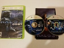 Halo 3: ODST (Microsoft Xbox 360, 2009) 2 Disc, Complete, Mint Condition