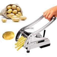French Fry Potato Chip Cutter Vegetable Slicer Maker Chopper Blade Cooking