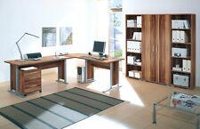 Arbeitszimmer Büroeinrichtung Büromöbel Büro Komplettset OFFICE LINE Walnuss Nb.