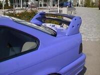 Heckflügel Limousine 4-tlg. mit Bremsleuchte Kerscher Tuning BMW E36
