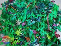 LEGO (75pcs) 65g Mixed Packs - Foliage, Leaves, Trees, plants, bushes, & More!