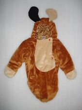 Baby Infant Boys Girls Plush Halloween Costume Puppy Dog Bunting 0-6 Months
