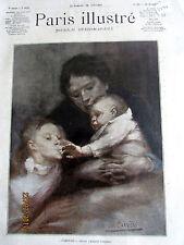 EUGENE CARRIERE FAMILLE FEMME ENFANT SC 3447 ILLUSTRATION ANCIENNE