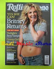 ROLLING STONE USA MAGAZINE 1067/2008 Britney Spears Patrick Stump Pattinson Nocd