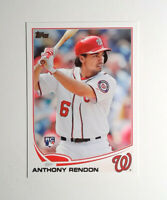 2013 Topps Update #US8 Anthony Rendon Rookie Baseball Card Nationals RC