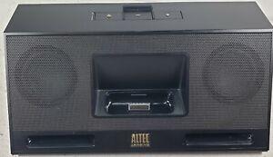Altec Lansing IMT320 iPod iPhone Audio Dock Portable 30 Pin Aux Input Black