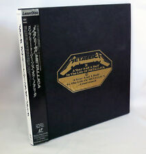 Japan Laserdisc 3-LD Box Set METALLICA A Year & A Half, In the life of METALLICA