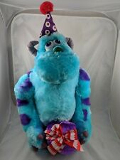 """Gemmy Monsters Inc Sulley Plush Door Greeter Figure 18"""" Stands Has Issue READ"""