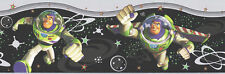 Disney Buzz Lightyear Beyond Infinity on Black Wallpaper Border DF059341B