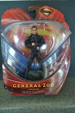 "MAN OF STEEL superman movie GENERAL ZOD movie masters 6"" action figure"