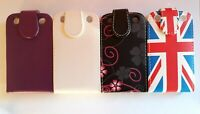Vertical PU leather, flip style phone case, cover to fit Blackberry Curve 9320