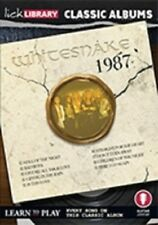 LICK LIBRARY CLASSIC ALBUMS WHITESNAKE 1987 LEARN TO PLAY Lesson ROCK GUITAR DVD