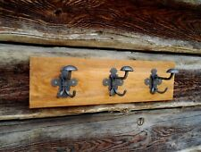 Placa de madera en rack Abrigo Sombrero, hecho a mano, hechos a mano diseño único, C 1 Foto