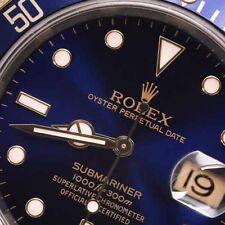 Rolex Submariner 16613BLSO Stainless Steel & 18k Yellow Gold Men's Watch (Blue)