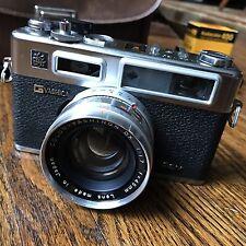 Vintage Yashica Electro 35 G Rangefinder Film Camera Yashinon DX 45mm f1.7