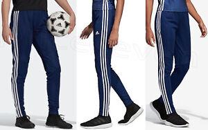 adidas Women's 'Tiro19' Tracksuit Pants Bottoms Dark blue / White