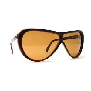 NOS Vintage Persol by Ratti PininfarinaPF802 Brown Sunglasses w/ 50% Lens