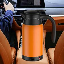 12V24V 800ml Car Electric Heated Mug Water Kettle Steel Cup Car Heating Kettle