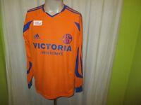 """FC Schalke 04 Adidas Langarm Spieler Version Trikot 2003/04 """"Victoria"""" Gr.M TOP"""