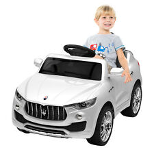 6V Licensed Maserati Kids Ride On Car RC Remote Control Opening Doors MP3 Swing