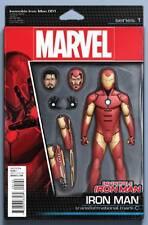 Invincible Iron Man #1 John Tyler Christopher Action Figure Variant Comic Book