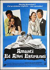 CINEMA-manifesto AMANTI ED ALTRI ESTRANEI young, bedelia, brandon, HOWARD