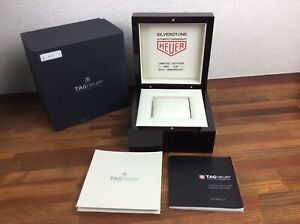 Tag Heuer Monaco Automatic 150th Anniversary Watch Box + Booklet + FREE POST