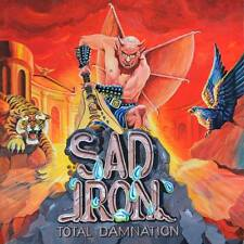 SAD IRON - Total Damnation (OFFICIAL REREL. +5 BONUS*DUTCH METAL CLASSIC*PICTURE