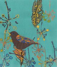 "DMC Printed Embroidery Kit ""Song Bird"""