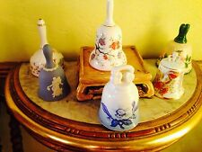 The Danbury Mint, Bells of the World's Greatest Porcelain Houses - 6 Bell Set