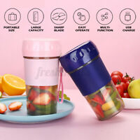 300ML Portable Juicer Cup Maker Electric USB Rechargeable Blender Juice Bottle