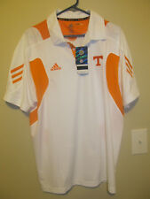 Tennessee Volunteers Sideline Polo shirt - Adidas Climalite Adult Large NWT