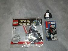 Lego Star Wars Chrome Darth Vader 4547551 Ltd Ed. Poly bag 1 of 10,000 nr mint