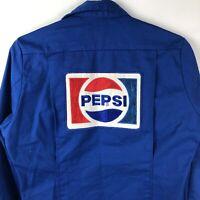 Pepsi Men's Vintage Uniform Jacket Size 36 Regular Blue