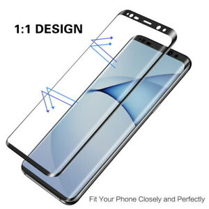 9D Cover Tempered Glass Screen Protector For Samsung Galaxy S20 S21 S10 Plus
