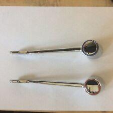 Long Lever Arm Crome Replacment Tap Handles. Non touch handles.