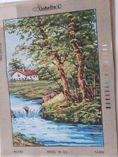 "Printed Needlepoint tapestry canvas 45x60cm 60x45 canvas GOBELIN L 18/""x24/"""