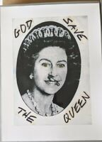 Jamie Reid God Save The Queen limited edition archive photograph 30cm X 40cm.