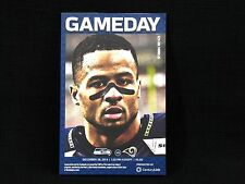 Seattle Seahawks Gameday Program vs St Louis Rams #29 Earl Thomas Cover -NFL