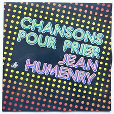 Chansons pour prier JEAN HUMENRY 30721