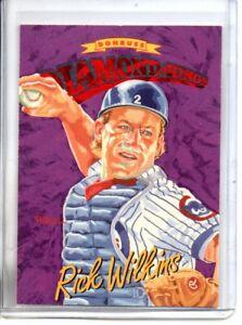 1993 DONRUSS RICK WILKINS DIAMOND KINGS